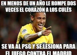 Enlace a Neymar haciendo llorar a los culés, un clásico