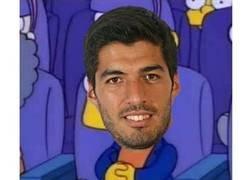 Enlace a Si lo amonestan, se pierde el partido contra el Atlético. Y Suárez en plan..