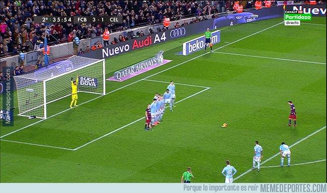 1023999 - Messi acaba de descubrir la fórmula para meter un gol de penalti