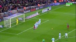 Enlace a Messi acaba de descubrir la fórmula para meter un gol de penalti