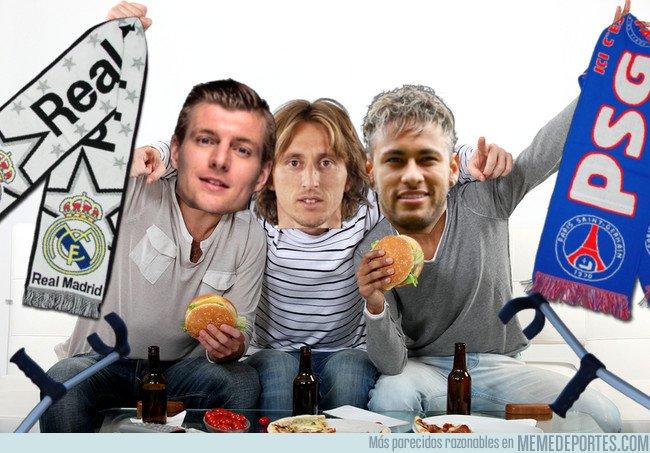 1024103 - Así será el PSG - Real Madrid de los lesionados