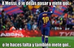 Enlace a Cualquier decisión que tomes... Messi sale con la suya