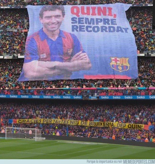 1024217 - El homenaje a Quini en el Camp Nou del que poco se ha hablado