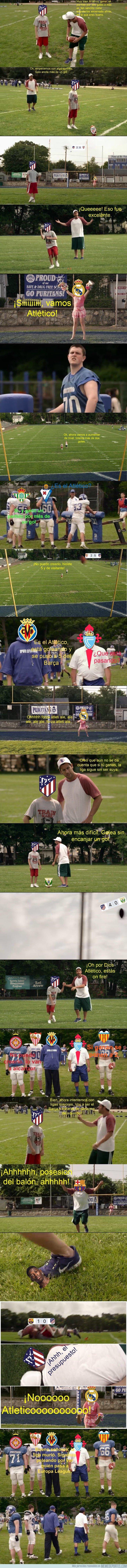 1024242 - Tanto hablar de cómo venía el Atlético yyyy....
