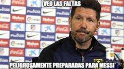 Enlace a Messi y las faltas