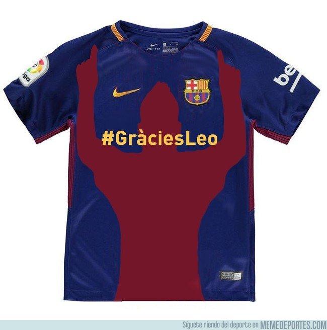 eee52063f95d8 1024300 - ¿Debería ser esta la camiseta del Barça el año que Messi se retire