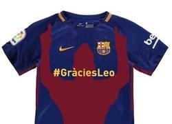 Enlace a ¿Debería ser esta la camiseta del Barça el año que Messi se retire?