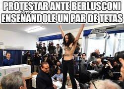 Enlace a Protestar en Italia