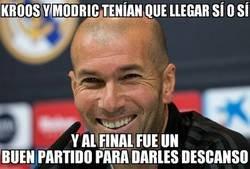 Enlace a A Zidane le salió todo bien
