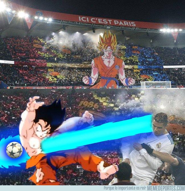 1024614 - Lo siento Goku, pero el poder de pelea de Cristiano es superior al tuyo