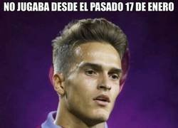 Enlace a Mala suerte la de Denis Suárez..