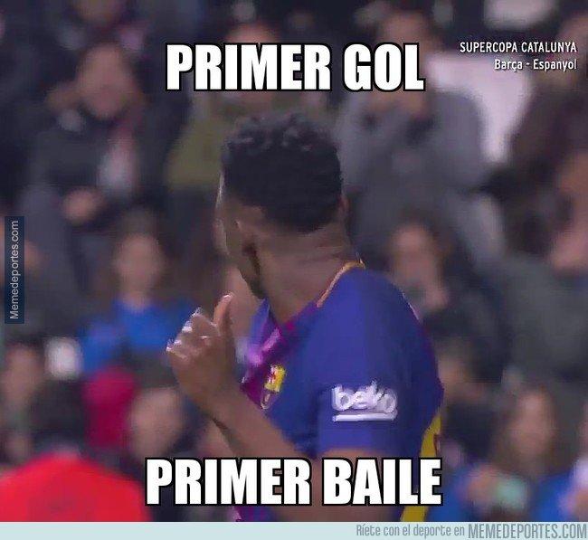 1024679 - Yerry Mina marca su primer gol y se marca un bailecito