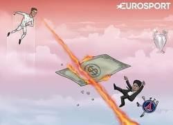 Enlace a Cristiano destruyó al PSG
