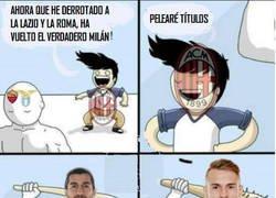 Enlace a Mientras tanto el Milán en Europa League