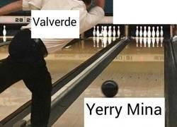 Enlace a Valverde después del gol de Yerry