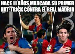 Enlace a Messi y su hattrick más especial con la llegada de Ciro