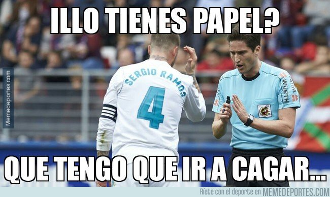 1025012 - Ramos le pide papel a Munuera