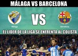 Enlace a Málaga-Barça. el partido mas desigual de la temporada