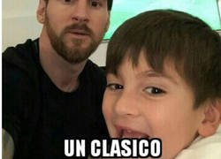Enlace a Messi es muy generoso
