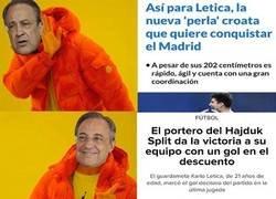 Enlace a La razón por la que el Madrid quiere a Letica