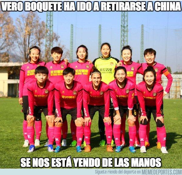 1025314 - Hasta las chicas de la selección española van a retirarse a China