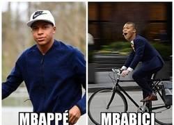 Enlace a Mbappé visto de otra manera