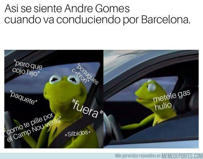 1025376 - André Gomes y sus peores pesadillas por Barcelona