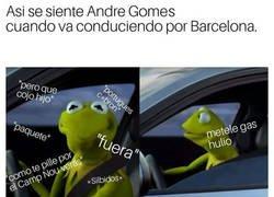 Enlace a André Gomes y sus peores pesadillas por Barcelona