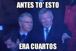 Enlace a Así reaccionó Ferguson a la eliminación del United