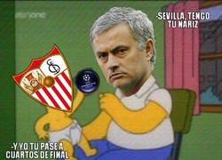 Enlace a Sevilla, tengo tu nariz...