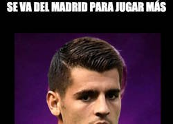 Enlace a La mala suerte de Morata