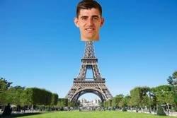 Enlace a Pobre Courtois en el Camp Nou