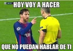 Enlace a Messi también regatea polémicas