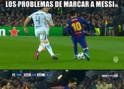 Enlace a El difícil reto de marcar a Messi