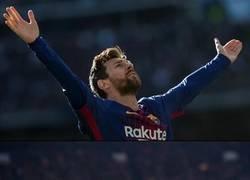 Enlace a La nueva celebración patentada de Messi