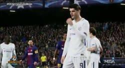 Enlace a La reacción de Morata ante los gritos del Camp Nou que decían QUÉ MALO ERES