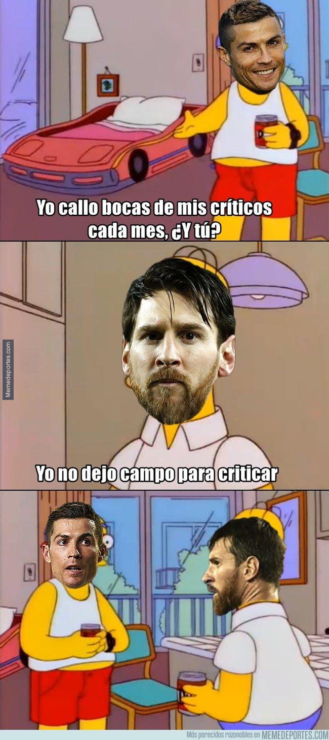 1025784 - Messi y Cristiano siempre acaban callando bocas