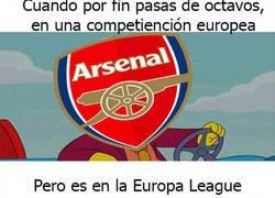 Enlace a Nuevo logro del Arsenal