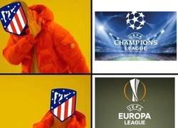 Enlace a El Atlético en Europa está temporada