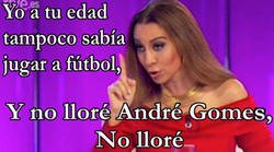 Enlace a Y no lloré André Gomes