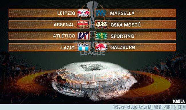1025862 - Así han quedado los cuartos de Europa League