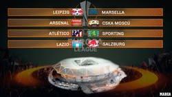 Enlace a Así han quedado los cuartos de Europa League