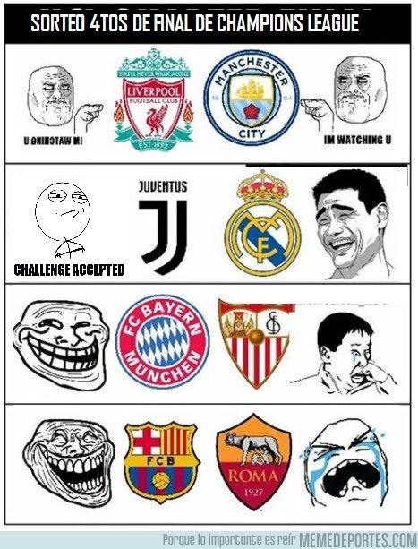 1025920 - Reacciones de Cada Equipo en el Sorteo de Cuartos de Final de Champions League