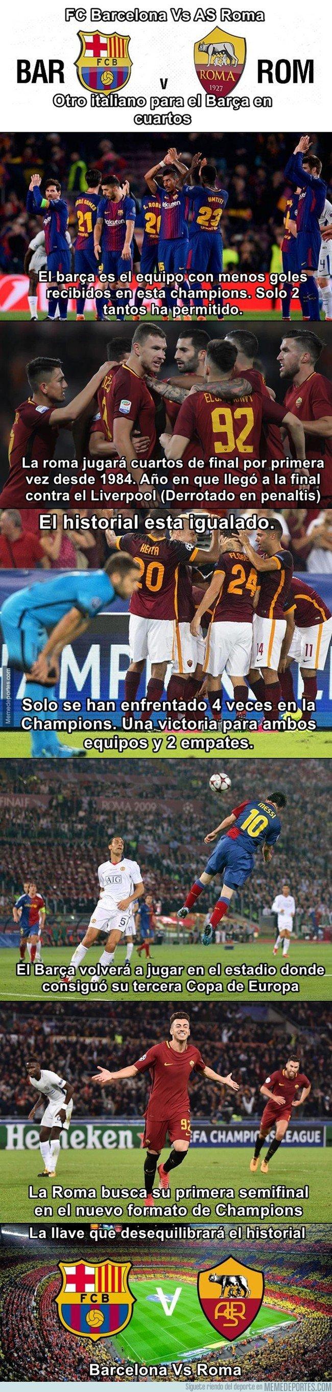 1025928 - Análisis de cuartos de Champions: Barcelona vs Roma
