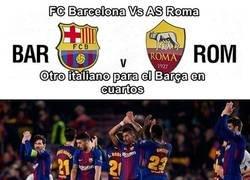 Enlace a Análisis de cuartos de Champions: Barcelona vs Roma