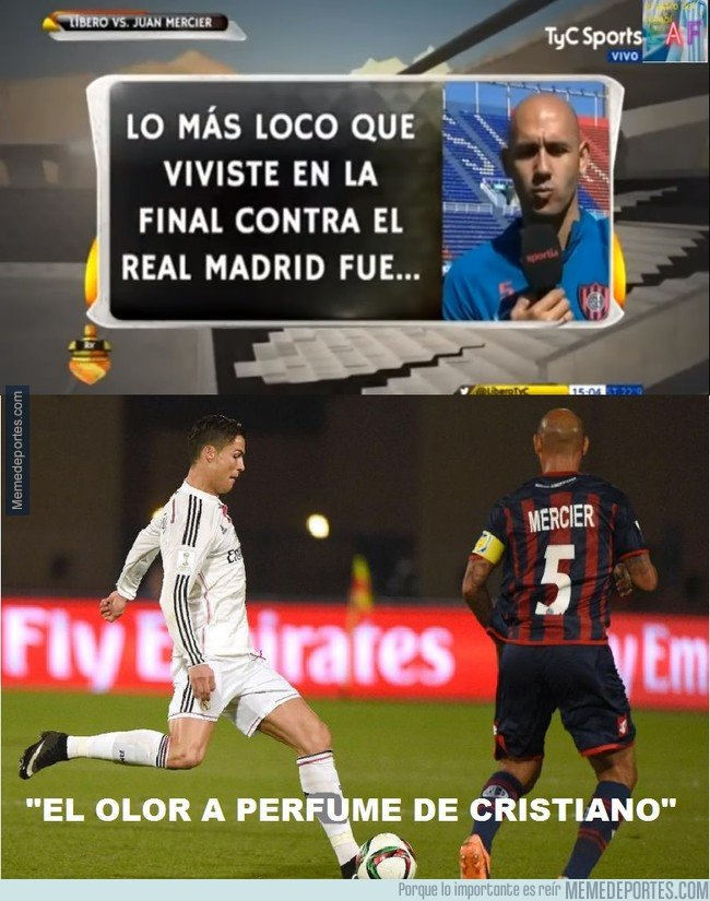 1025944 - El Pichi Mercier, y lo que más le llamó la atención de jugar contra Cristiano Ronaldo