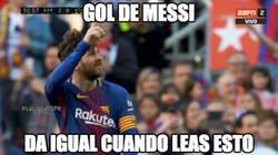 Enlace a ¿Y la celebración de Messi a qué se debe?