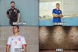 Enlace a Ya a la luz las segundas equipaciones de algunos equipos para el Mundial