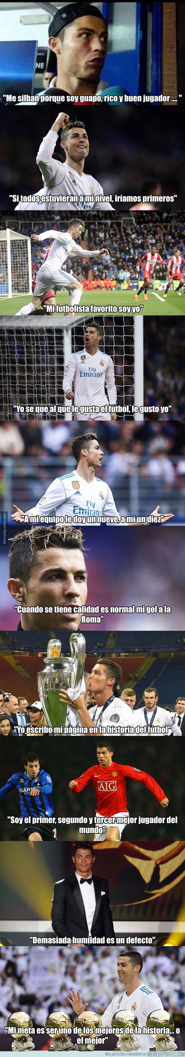 1026428 - Las diez frases más sobradas y prepotentes de Cristiano Ronaldo