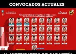 Enlace a El 11 alternativo de la Selección con los no convocados también es un equipazo que flipas